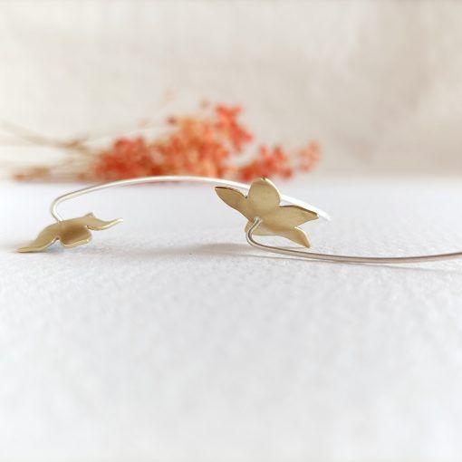 Pendientes de flor-singulrsisters-joyeríacreativa (2