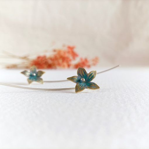 Pendientes de flor-singulrsisters-joyeríacreativa (3)