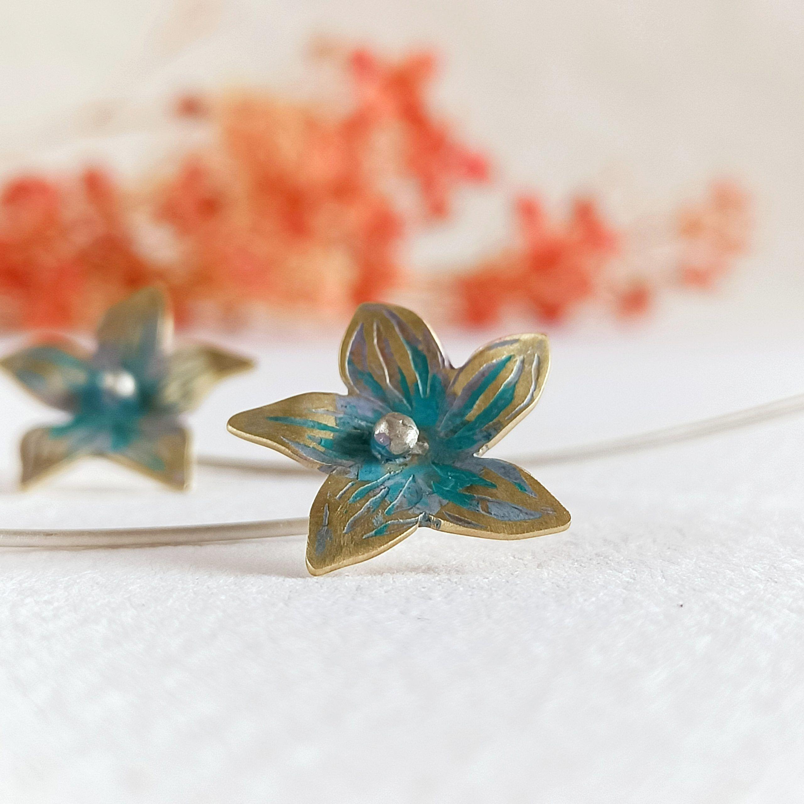 Pendientes flor-singularsisters-joyeríacreativa