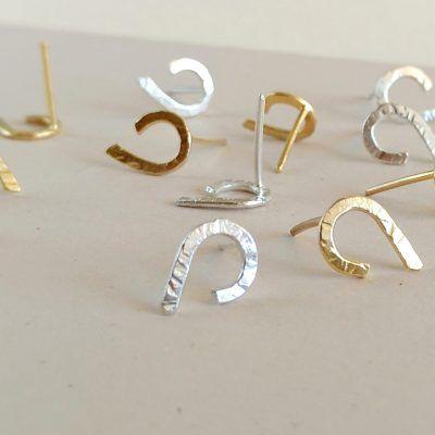 Pendientes minimalistas-joyas de singularsisters