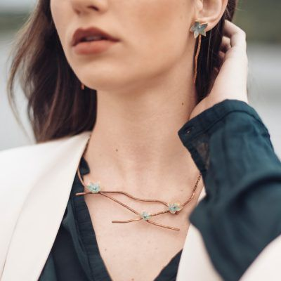 Brotes-collar-laton-cobre-joyeriacreativa-singularsisters
