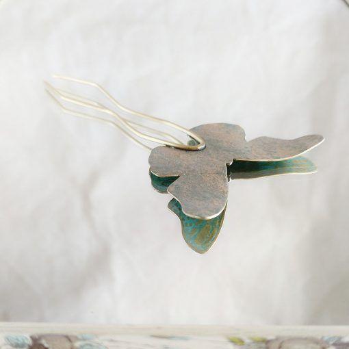 Adorno pelo mariposa-turquesa-joyeriacreativa-singularsisters1