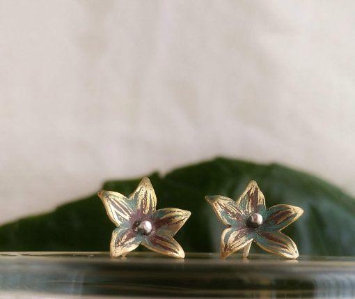 Pendientes Flor-singularsisters-joyeriacreativa
