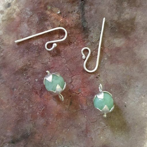 Pendientes de plata y jadeita-singularsisters-joyeriacreativa (4)