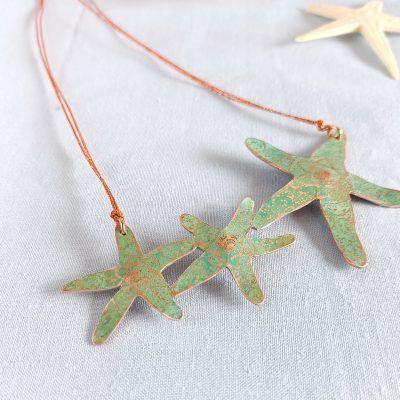 Collar estrellas de mar-singularsisters-joyeriacreativa (1)