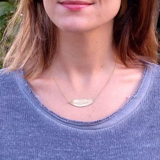 Conjunto hojas doradas-joyas de singularsisters
