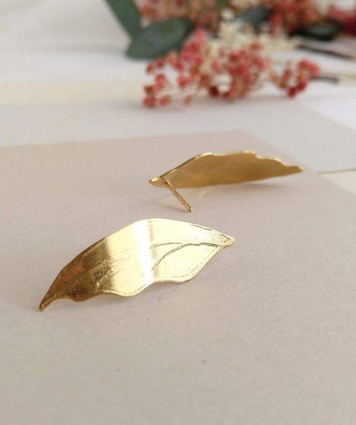 Pendientes hojas-joyas de singularsisters (2)