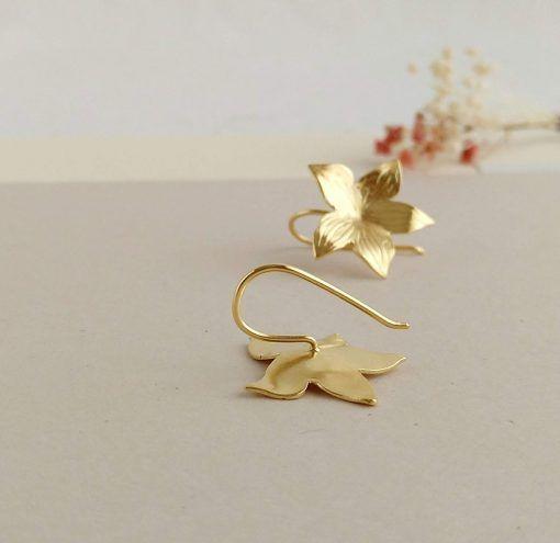 Pendientes dorados-joyas de singularsisters (1)