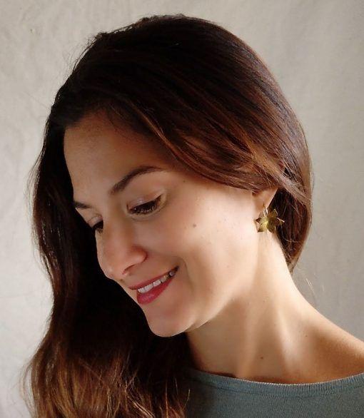 Pendientes dorados-joyas de singularsisters (2)