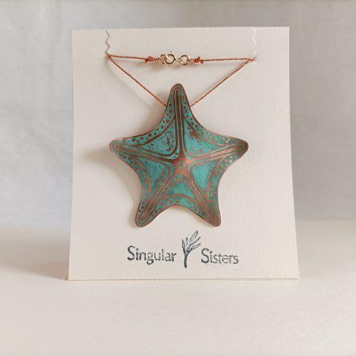 Colgante estrella de mar-singularsisters