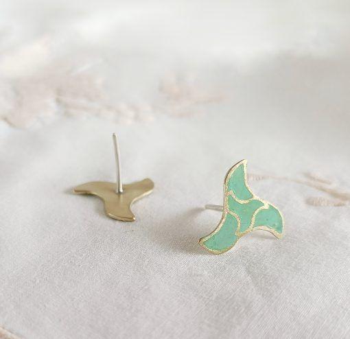 Pajarita Nazarí-pendientes-joyas de singularsisters (3)