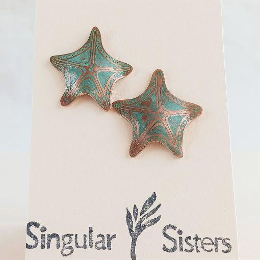 Pendientes estrella de mar-singularisisters (1)