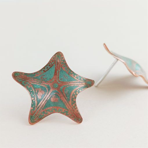 Pendientes estrella de mar-singularisisters (3)